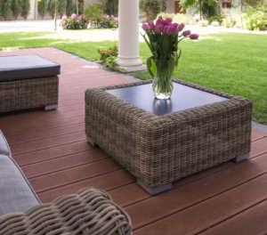 Blank slate patios